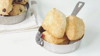 노오븐 스콘 만들기 (에어프라이어) | [Air Fryer] Scones Recipe | 한세 HANSE