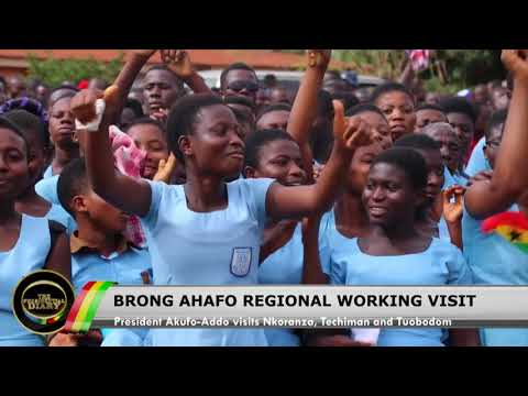 Presidential Diary: Working Visit to the Brong Ahafo Region; CEO'S Summit