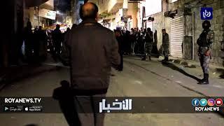 أعمال شغب وإحراق لمستودعات المؤسسة العسكرية وعودة الهدوء نسبياً في الكرك - (11-2-2018)