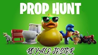 LIVE FORTNITE PROP HUNT - JOUER AVEC LES ABONNÉS - FREE SKIN GIVEAWAY (FORTNITE BATTLE ROYALE)