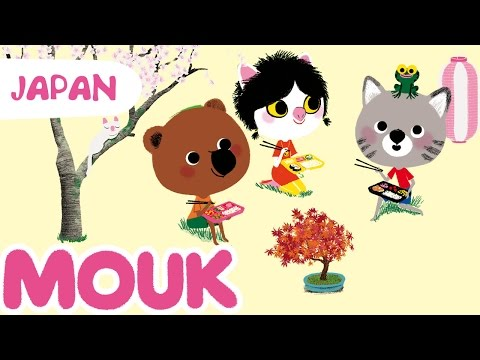Mouk discovers Japan - 30 minutes compilation HD | Cartoon for kids