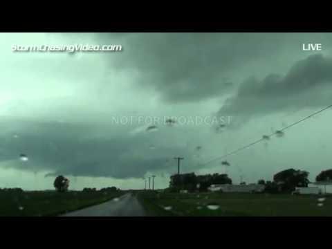 7/12/2014 Eastern Iowa Storm Chase Live