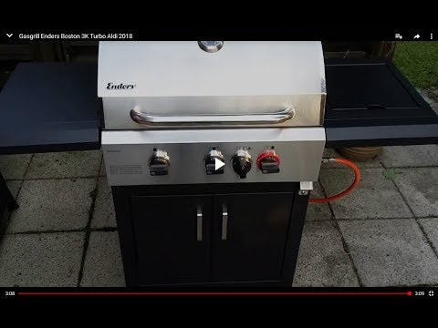 Studio Elektrogrill Aldi Test : Gasgrill enders boston k turbo aldi