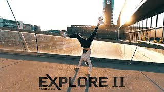 Explore ii - freestyle and street football shoes - promo
