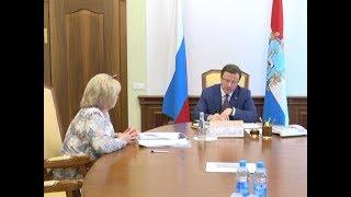 Дмитрий Азаров провёл рабочую встречу с Ольгой Гальцовой