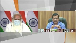 PM Modi pulls up Kejriwal for televising a private meeting;Kejriwal apologizes with folded hands
