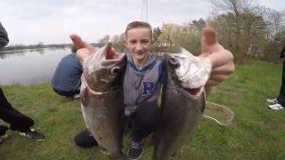 Рыбалка в Германии 38 Открытие сезона у подростков Ловля форели