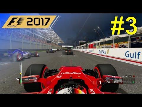 F1 2017 - Let's Make Vettel World Champion Again #3 - 100% Race Bahrain