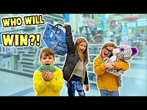 25 DOLLAR TOYS R US SHOPPING CHALLENGE | JKrew
