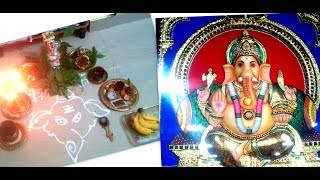 Vinayagar chaturthi pooja celebration | step by step guide for beginners with ganesh stories