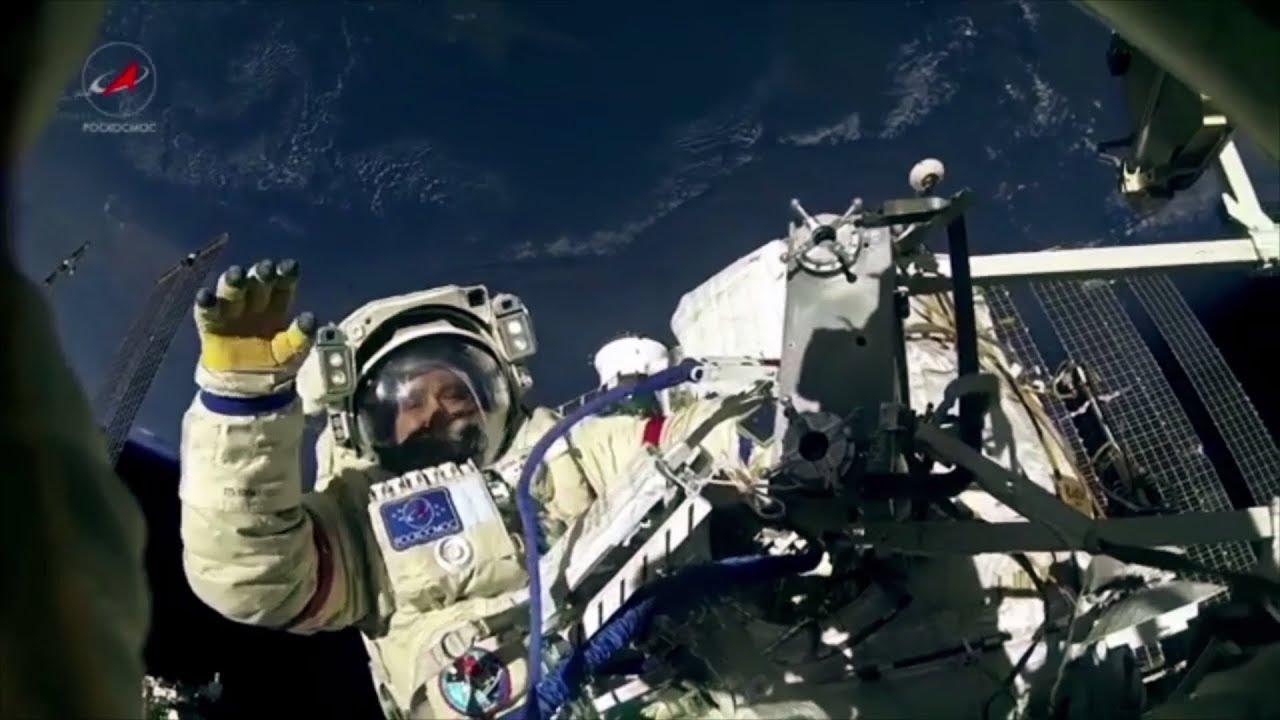 Орбитальная прогулка: выход Юрчихина и Рязанского в открытый космос
