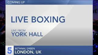 Live Championship Boxing - Alex Dilmaghani vs. Francisco Fonseca UNDERCARD