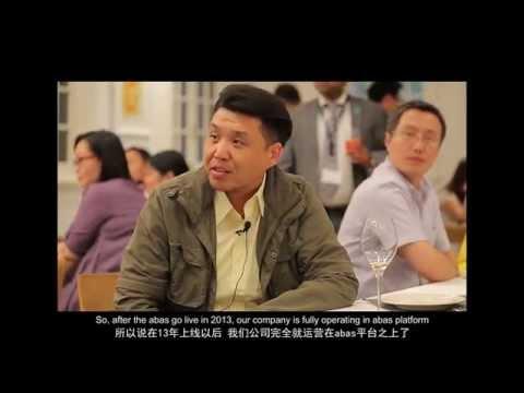 abas China customer forum 2015 in Shanghai