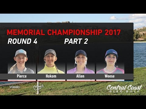 2017 Memorial FPO Round 4 Part 2 - Pierce, Hokom, C. Allen, Weese