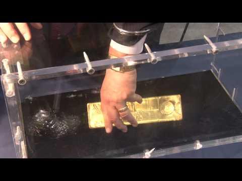 Coinweek Clic Apmex Displays 400 Ounce Gold Bar At Ana