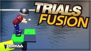 Trials Fusion | Golf Challenge, Ball Chase & Shapes in the Dark!