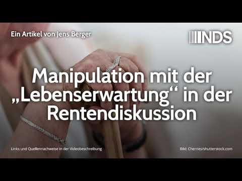 """Manipulation mit der """"Lebenserwartung"""" in der Rentendiskussion   Jens Berger   22.10.2019"""