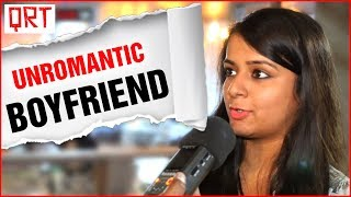 Girl wants a K*SS From UNROMANTIC Boyfriend | Delhi Girls Open Talk about Boys | QRT