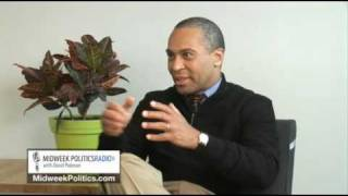 Midweek Politics with David Pakman - Exclusive MA Governor Deval Patrick Interview Part 1 of 2