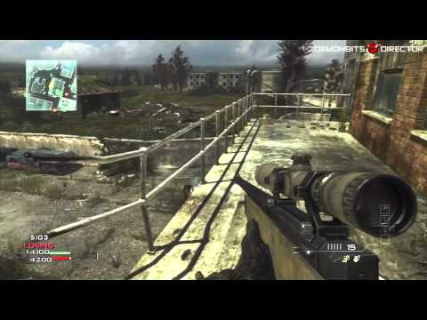 Call of Duty: MW3: Usando Francotirador (Live Gameplay/Comentado) Videos De Viajes