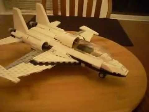 LEGO Fighter Jet 360