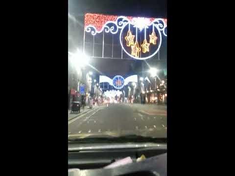 Christmas Lights Union Street Aberdeen 2014
