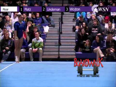 Boardwalk Fitness and Tanning Highlights Winona State Gymnastics vs. Gustavus Adolphus