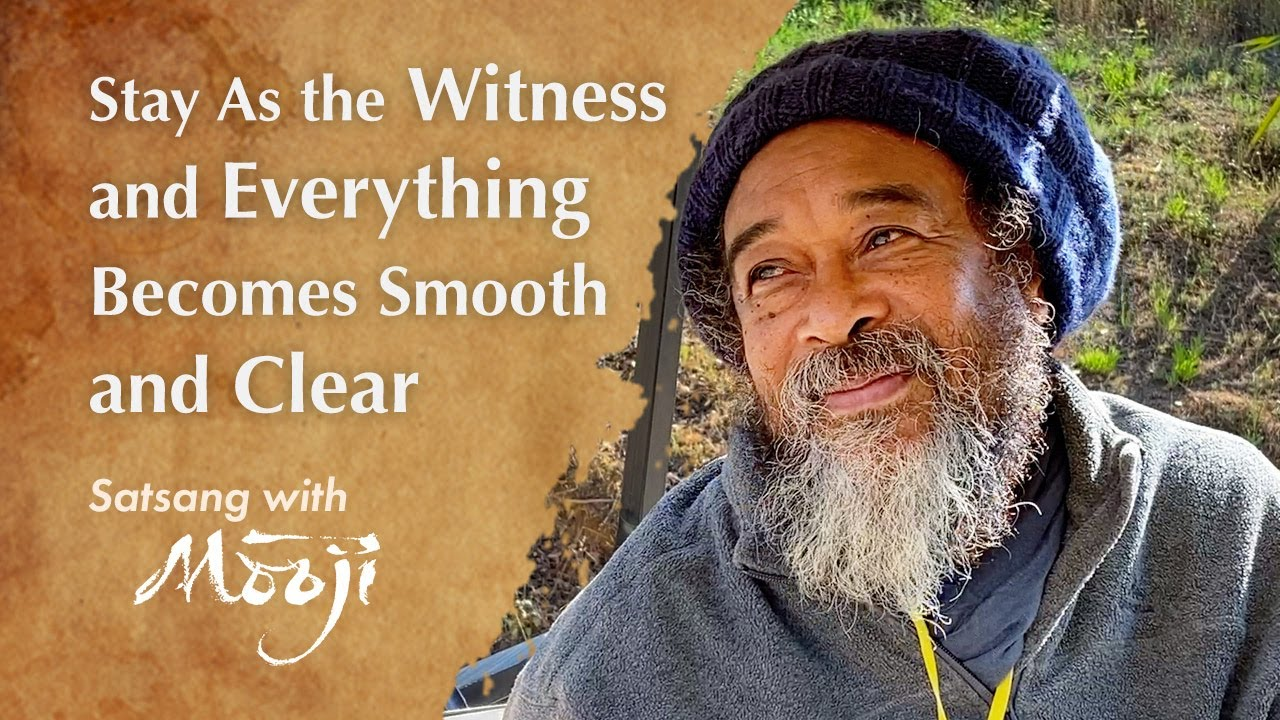 Stay As the Witness and Everything Becomes Smooth and Clear