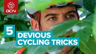 5 Devious Cycling Tricks Of Tour de France Riders | Pro Cyclist Racing Secrets