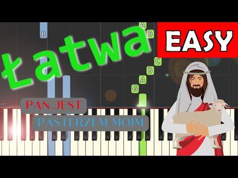 🎹 Pan jest Pasterzem moim - Piano Tutorial (łatwa wersja) 🎹