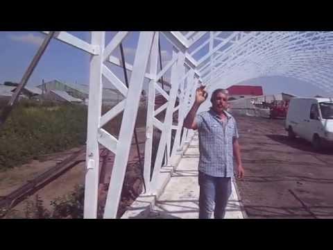 Sera metalica Matca, 21 metri latime, 225 metri lungime