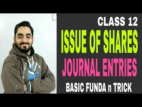 3 # CLASS 12 HOW TO MAKE JOURNAL ENTRIES OF APPLICATION , ALLOTMENT ,FIRST N FINAL CALL ?