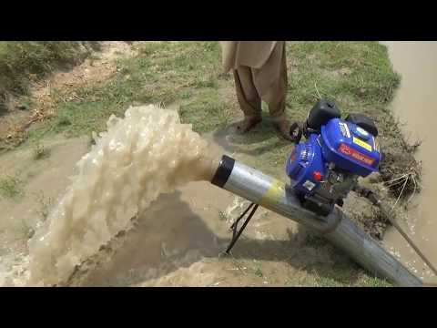 How To Make Water Pump 5 Inches With Engine 5 Inch Delivery Farmer Machine
