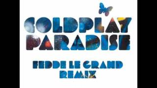 Coldplay - Paradise (Fedde le Grand remix [radio edit])