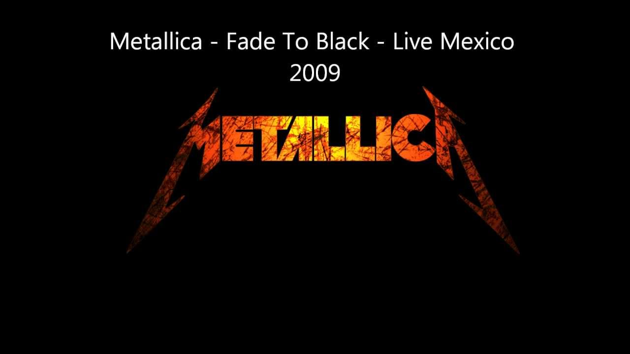Fade to black metallica picture — img 6