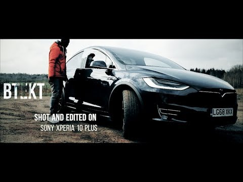 Sony Xperia 10 Plus for Filmmaking | Cinematic Shoot in a Tesla Model X