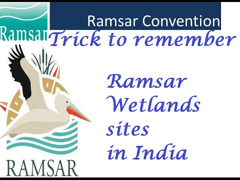 Trick To Remember Ramsar Wetland  Sites in India (Part 1)