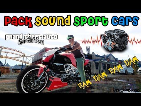 GTA PACK DE SONS CARROS ESPORTIVOS (Sound Sport Cars) Vídeo In 4K