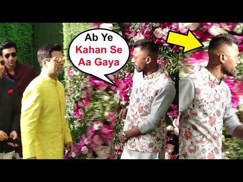 Hardik Pandya IGNORES Karan Johar After Koffee With Karan Controversy At Akash Ambani Wedding