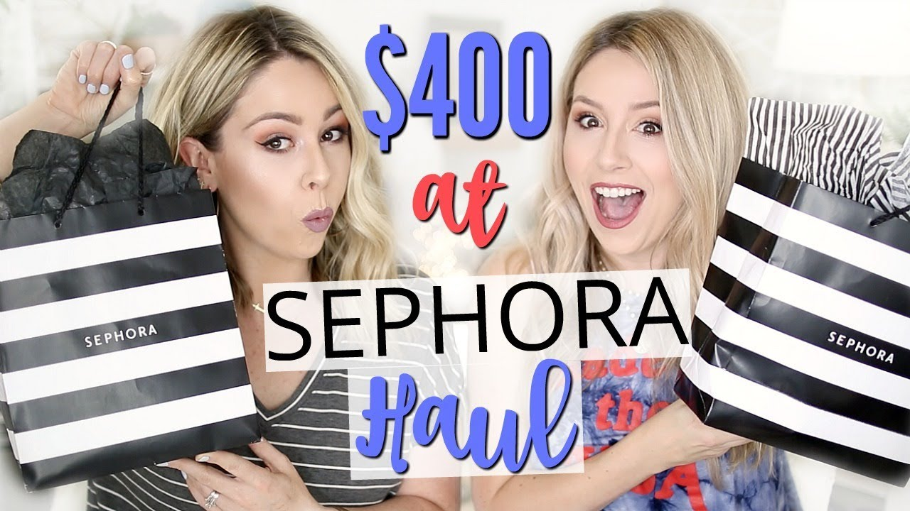 What $400 Buys You at SEPHORA HAUL