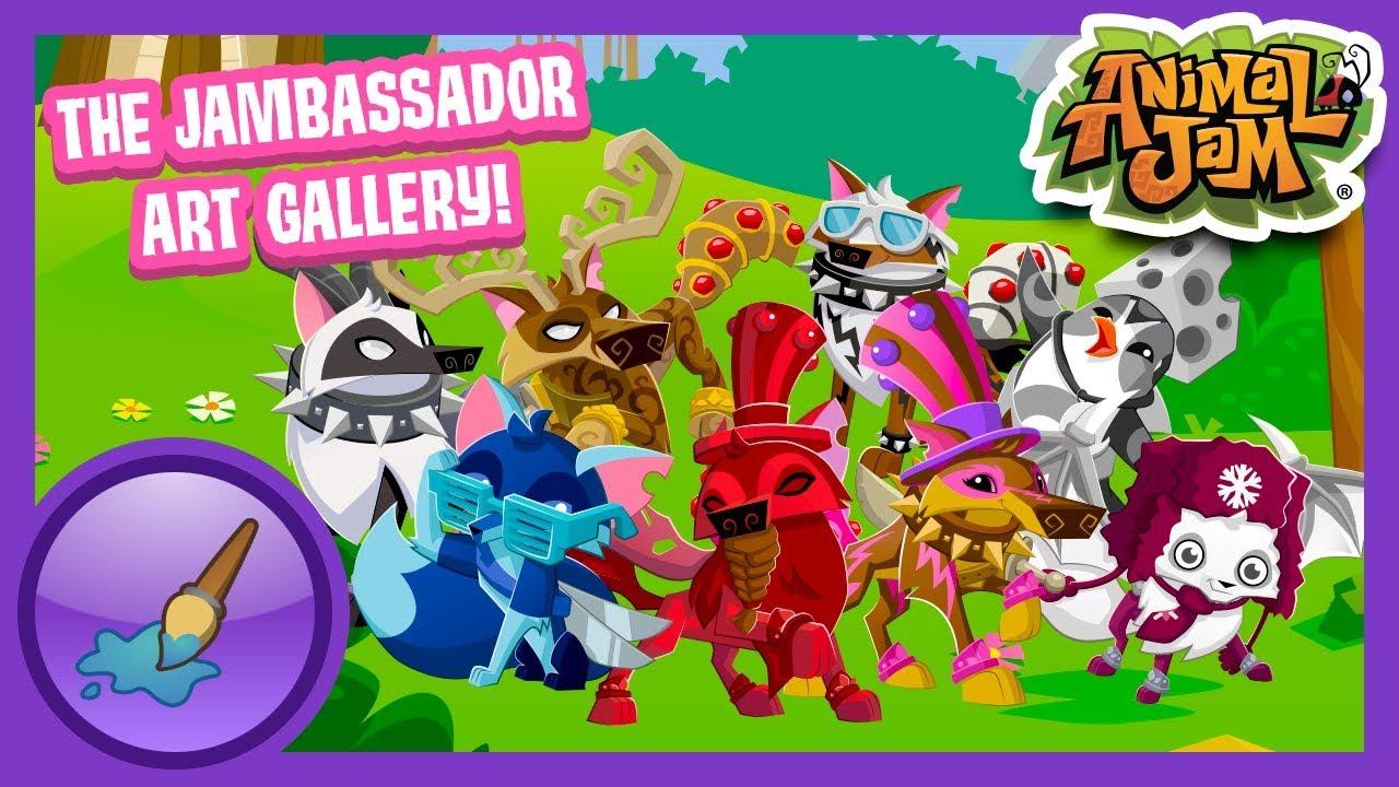 Animal Jam Art Gallery