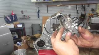 Cat 3024c/Perkins N844 front cover and throttle linkage