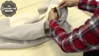 Как соединить жилет с подкладкой.  Уроки кройки и шитья в школе GRASSER.