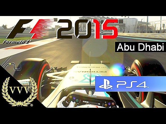 F1 2015 Abu Dhabi PS4 Gameplay