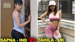 Fitness Women Sapna Vyas Vs London's Tahlia Rowena Coutinho