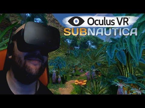 Subnautica VR ► Oculus rift ► Виртуальная Прогулка по Тропикам