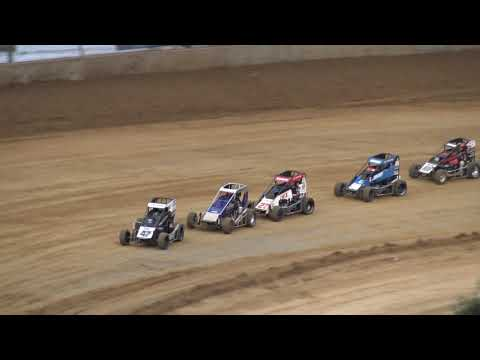 Lawrenceburg Speedway Indiana Midget Week B Main 6-8-19