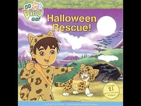 nickelodeons go diego go halloween rescue book