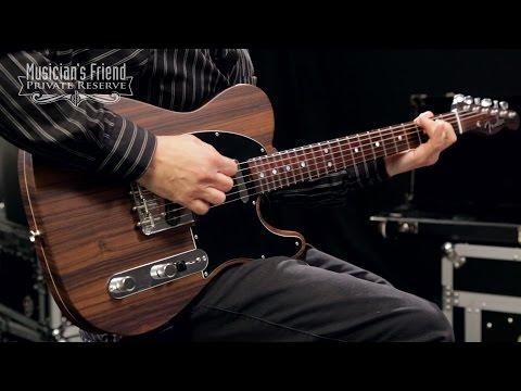 Fender Custom Shop Limited Rosewood Telecaster Electric Guitar