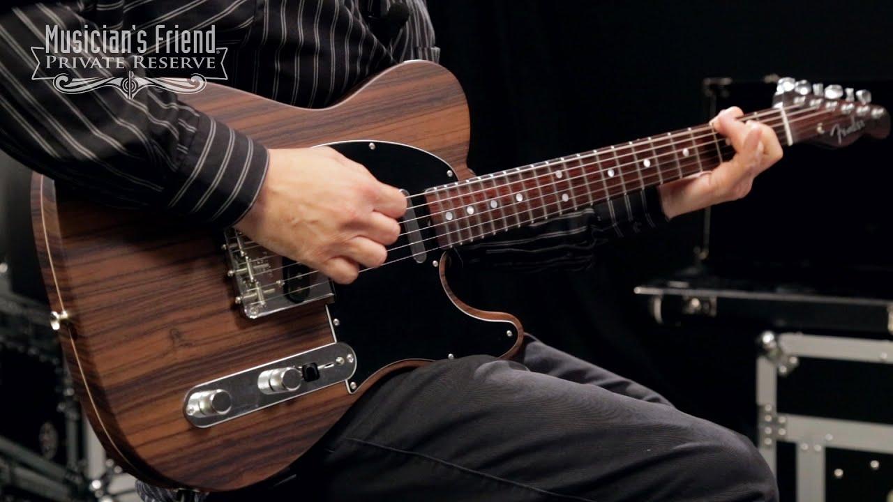 fender custom shop limited rosewood telecaster electric guitar youtube. Black Bedroom Furniture Sets. Home Design Ideas